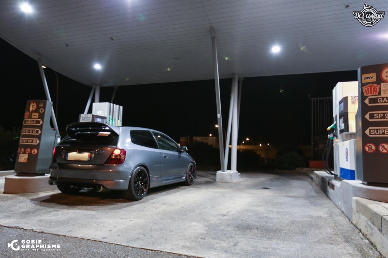 Honda Civic Type R EP3... Un soir avec les Nakama...! 2