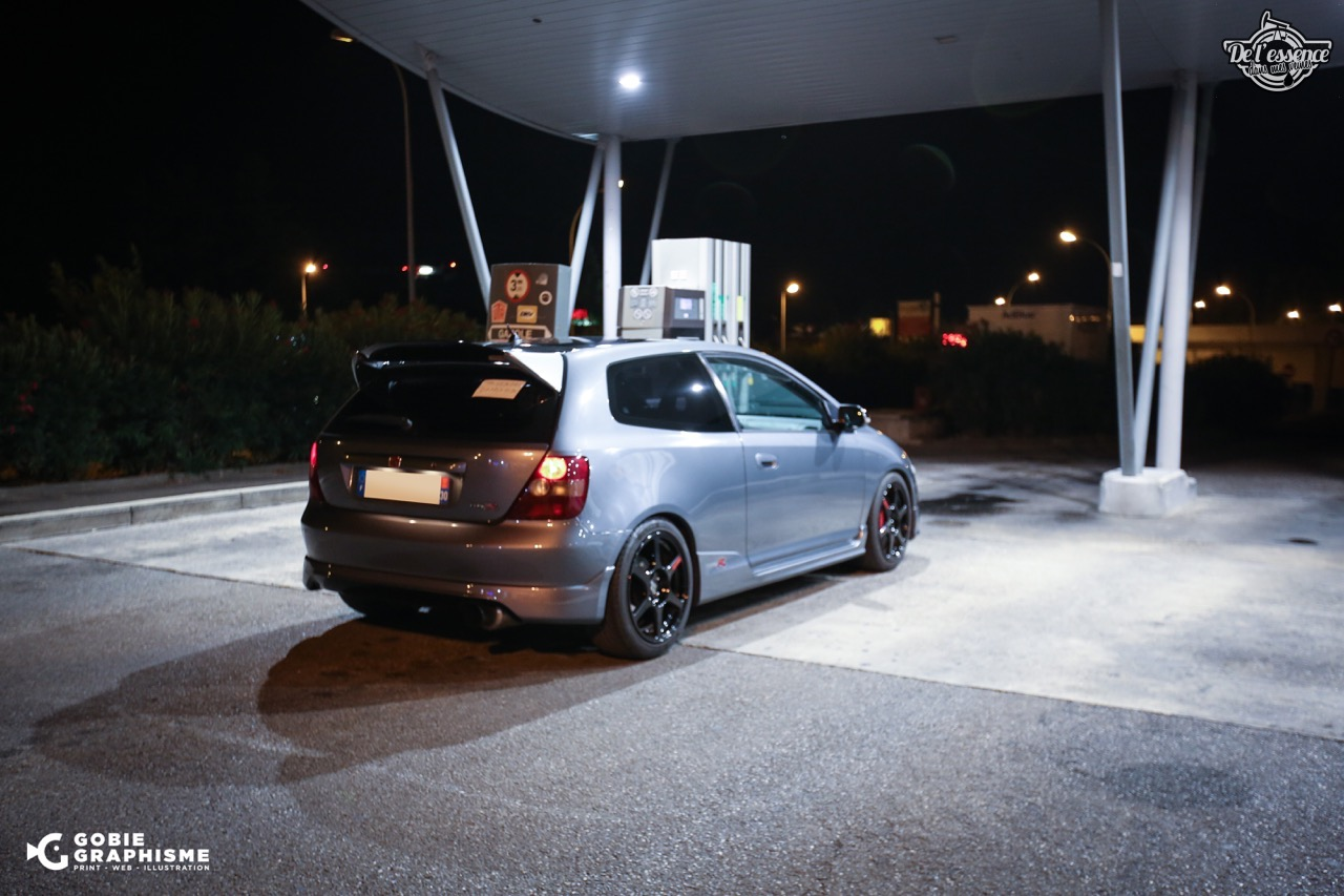 Honda Civic Type R EP3... Un soir avec les Nakama...! 5
