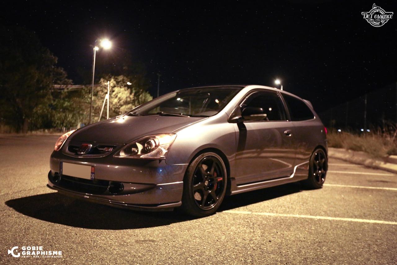 Honda Civic Type R EP3... Un soir avec les Nakama...! 1