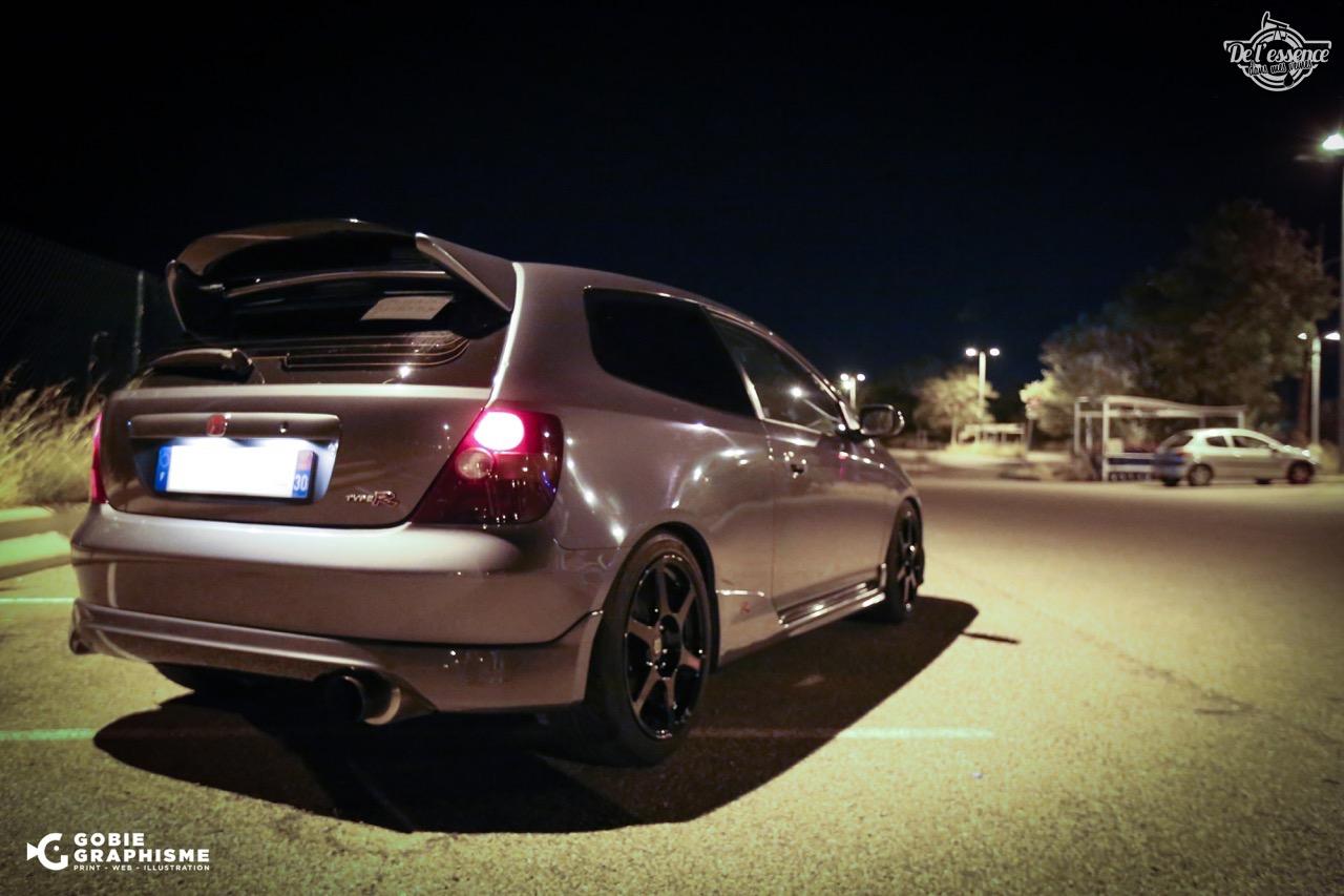 Honda Civic Type R EP3... Un soir avec les Nakama...! 10