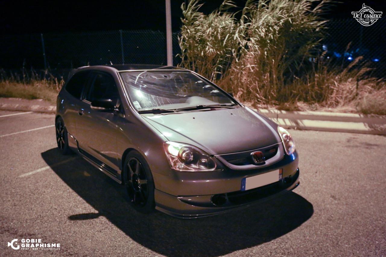 Honda Civic Type R EP3... Un soir avec les Nakama...! 9