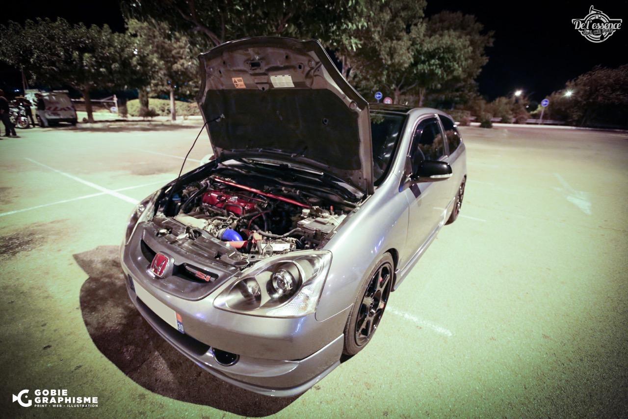 Honda Civic Type R EP3... Un soir avec les Nakama...! 12