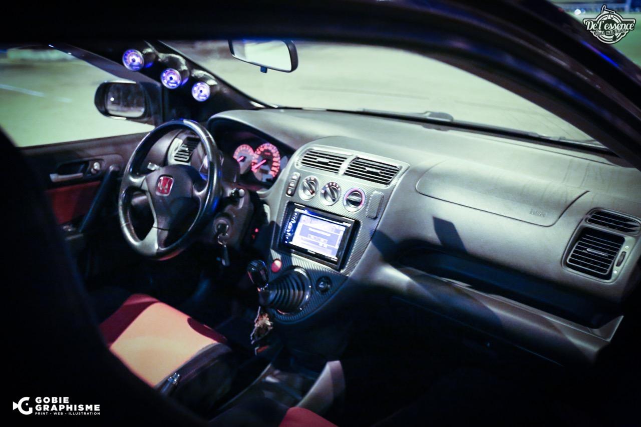 Honda Civic Type R EP3... Un soir avec les Nakama...! 13