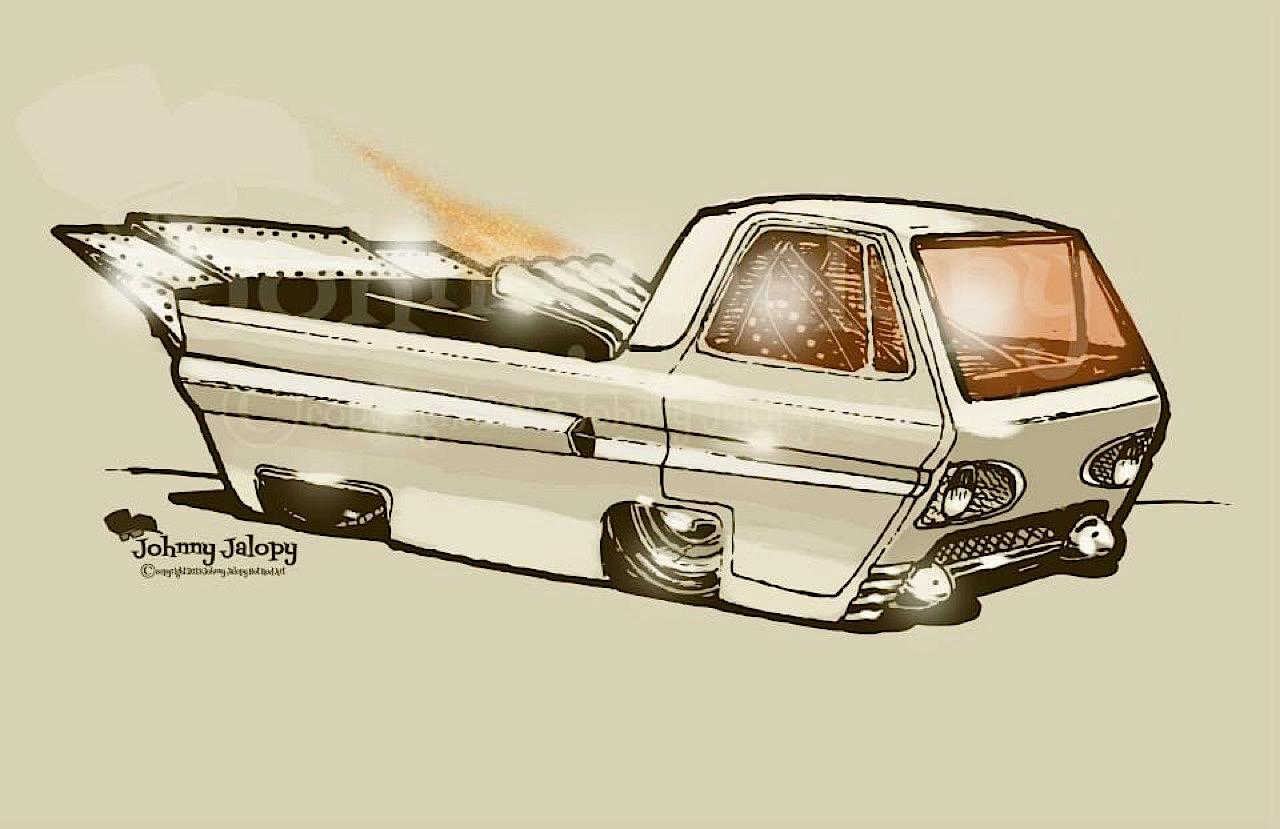 #Petrolhead : Johnny Jalopy Wood - Hot Rod & Custom Kulture ! 8