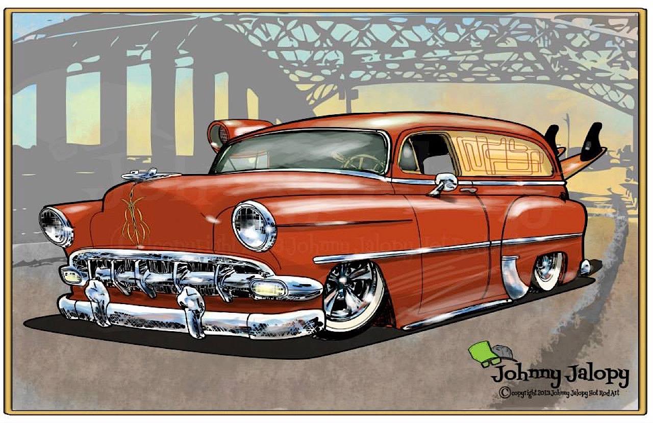 #Petrolhead : Johnny Jalopy Wood - Hot Rod & Custom Kulture ! 73