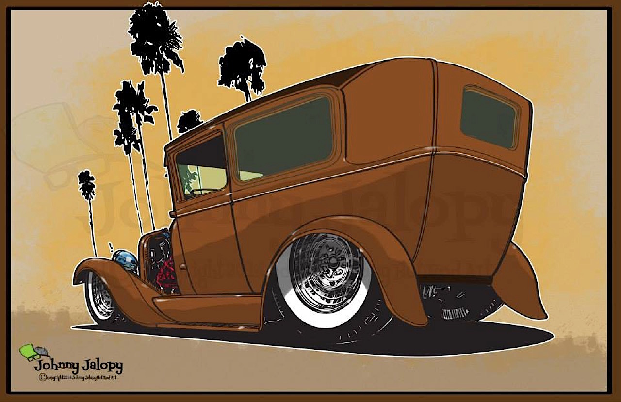 #Petrolhead : Johnny Jalopy Wood - Hot Rod & Custom Kulture ! 99