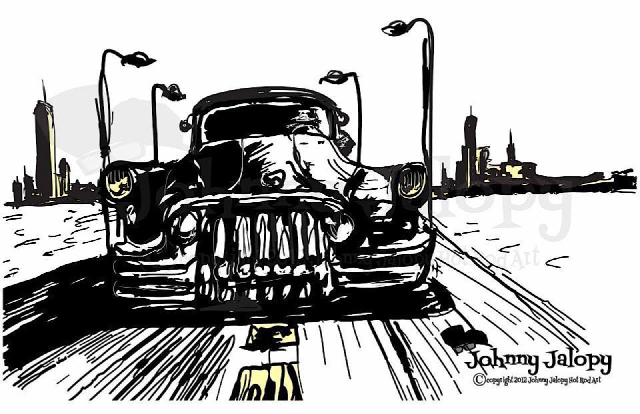 #Petrolhead : Johnny Jalopy Wood - Hot Rod & Custom Kulture ! 88