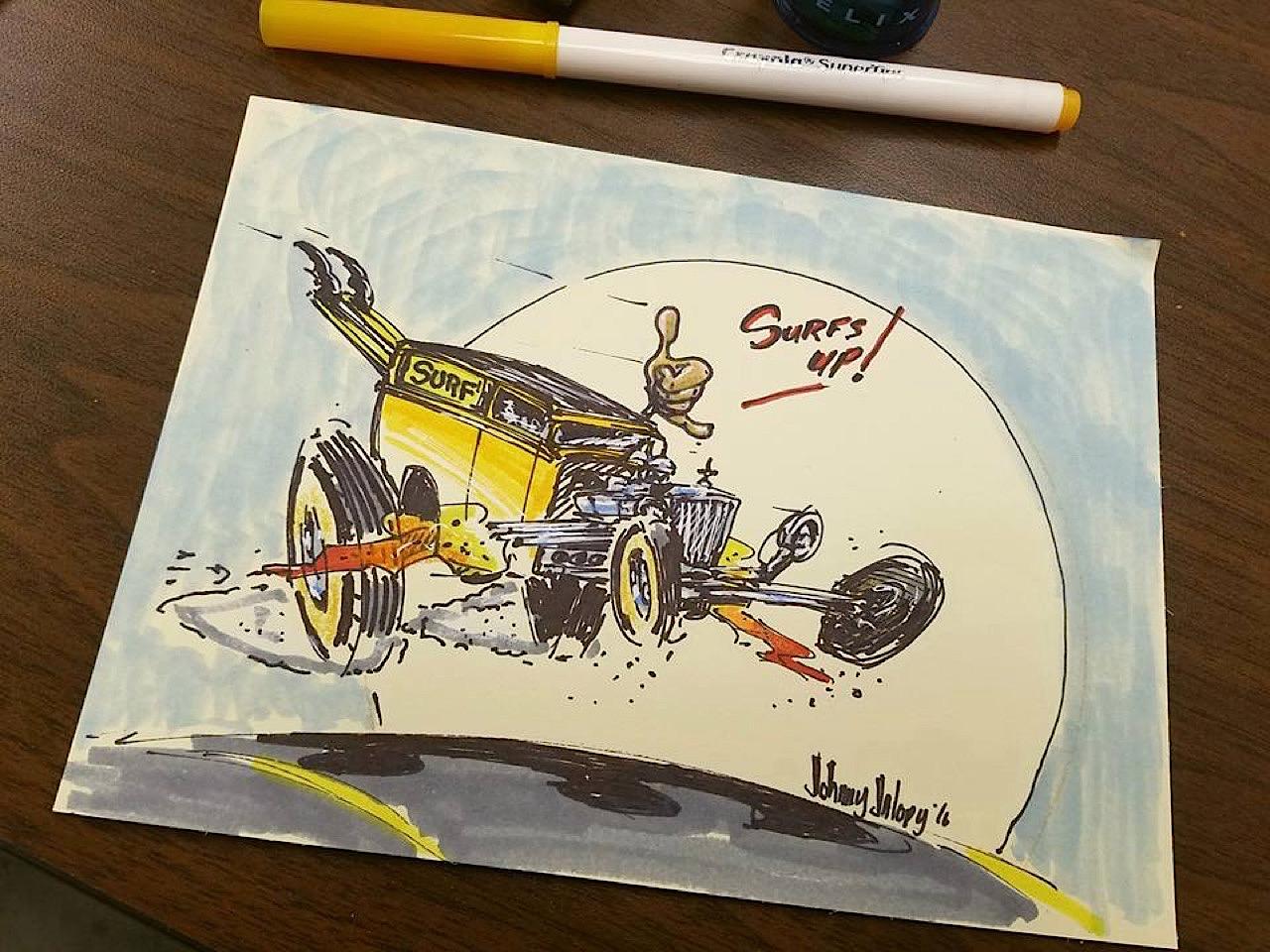 #Petrolhead : Johnny Jalopy Wood - Hot Rod & Custom Kulture ! 102