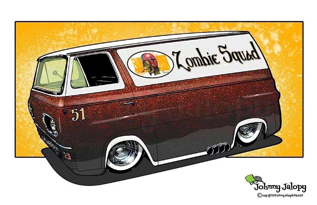 #Petrolhead : Johnny Jalopy Wood - Hot Rod & Custom Kulture ! 35