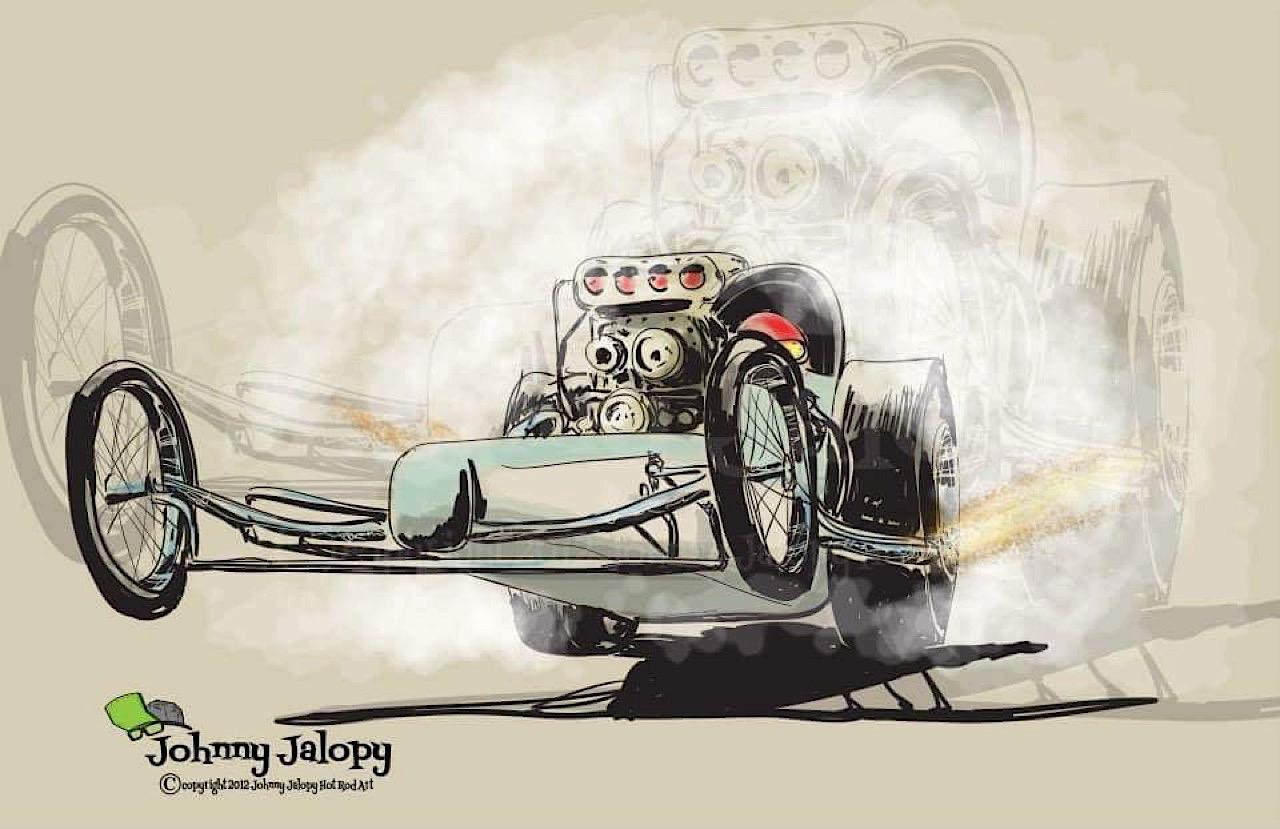 #Petrolhead : Johnny Jalopy Wood - Hot Rod & Custom Kulture ! 77