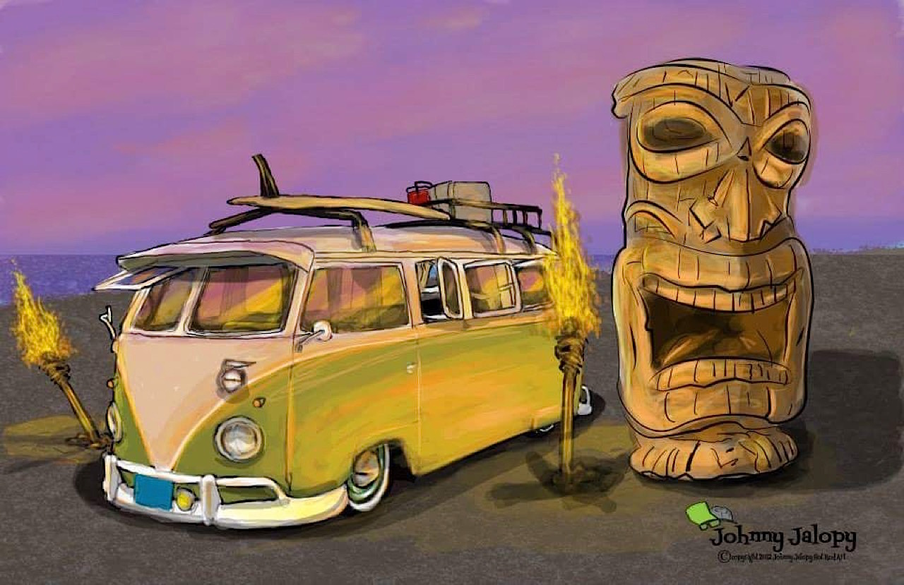 #Petrolhead : Johnny Jalopy Wood - Hot Rod & Custom Kulture ! 6