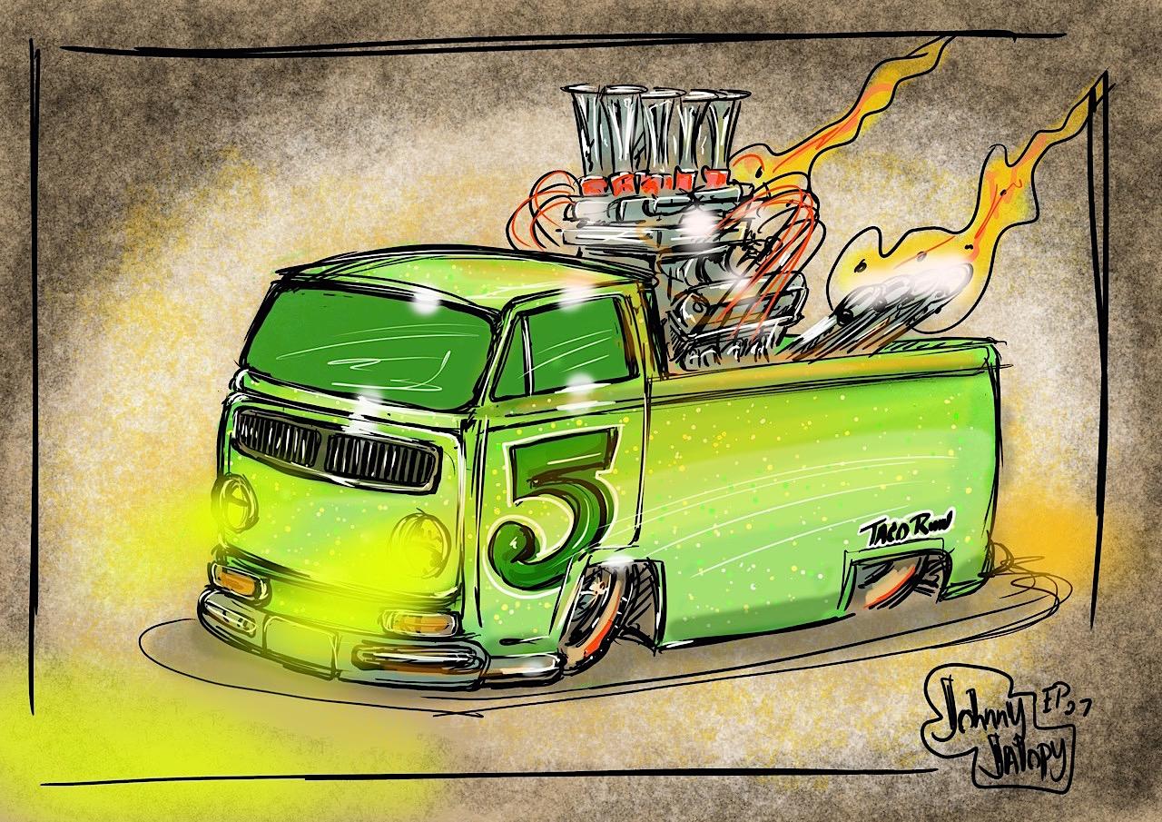 #Petrolhead : Johnny Jalopy Wood - Hot Rod & Custom Kulture ! 100
