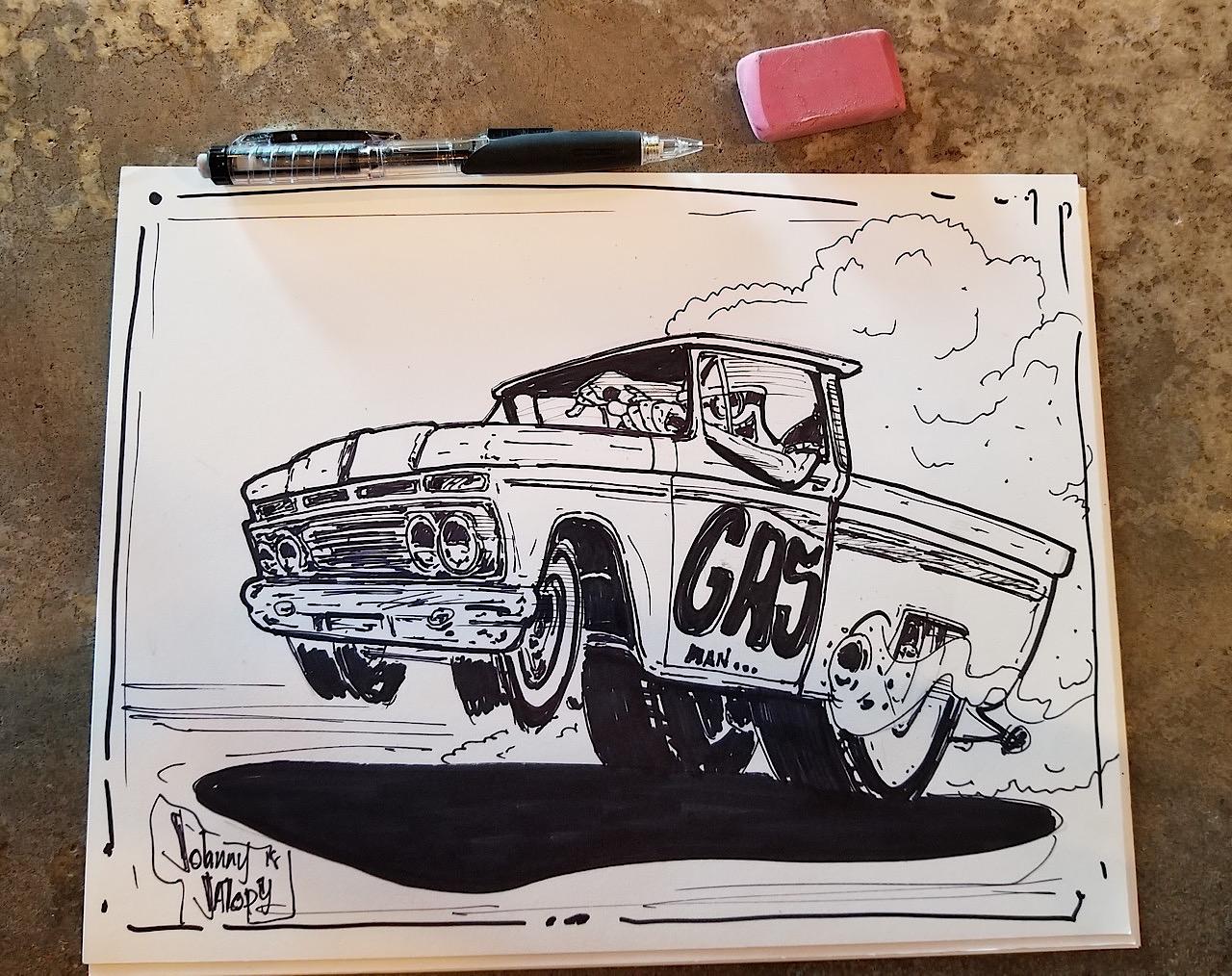 #Petrolhead : Johnny Jalopy Wood - Hot Rod & Custom Kulture ! 28