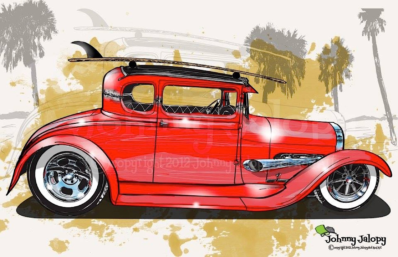 #Petrolhead : Johnny Jalopy Wood - Hot Rod & Custom Kulture ! 41