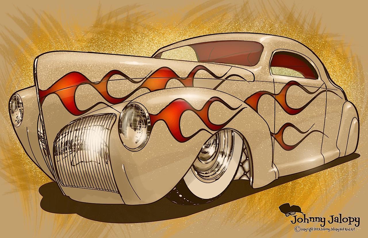 #Petrolhead : Johnny Jalopy Wood - Hot Rod & Custom Kulture ! 95