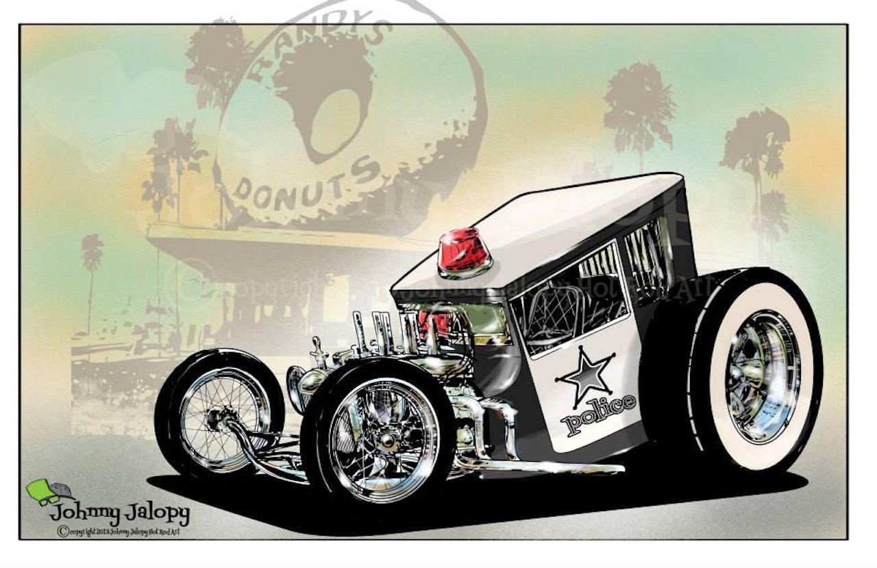 #Petrolhead : Johnny Jalopy Wood - Hot Rod & Custom Kulture ! 76