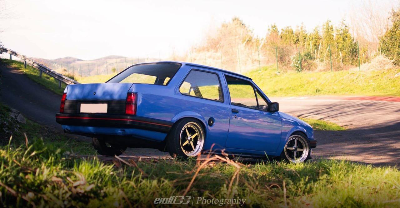 Opel Corsa... Equip et sac à dos ! 1