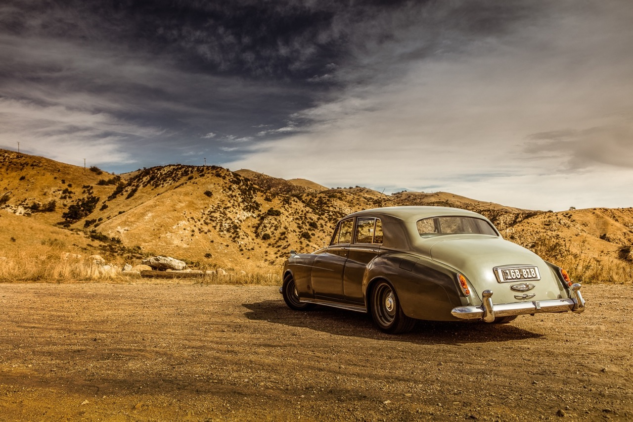 Rats '58 Rolls Royce Silver Cloud... F**k the purist ! 12