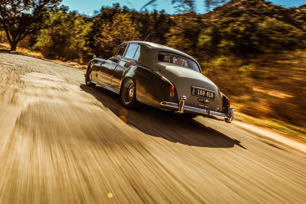 Rats '58 Rolls Royce Silver Cloud... F**k the purist ! 7