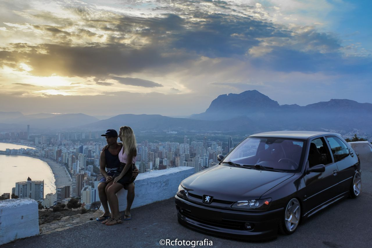 Bagged Peugeot 306 - Air Porto ! 24