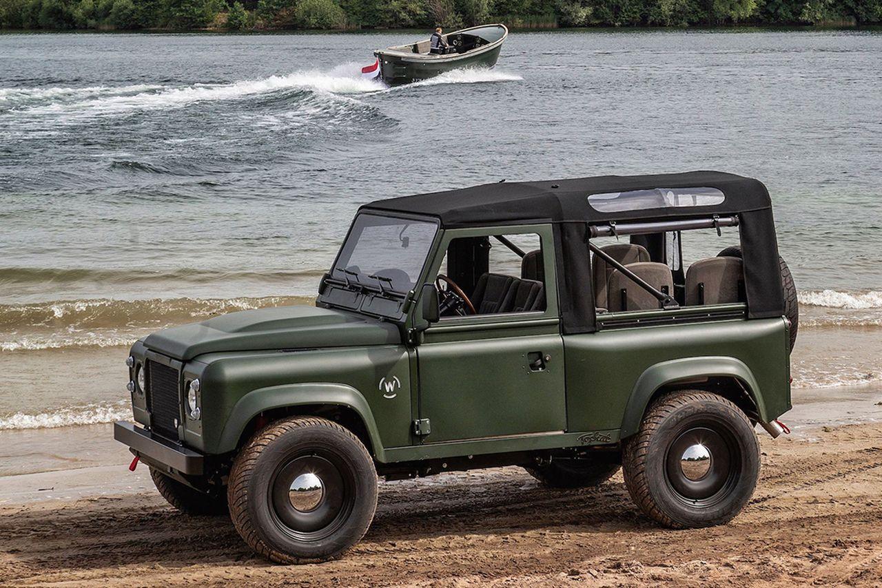 Land Rover Defender par Tophat Classics - Le Def' ultime ? 20