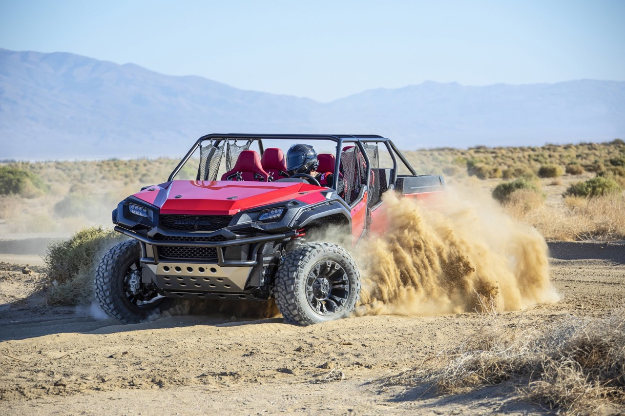 #SEMA : Honda Ridgeline - Open Air Vehicle Concept... Buggy Vtec ! 12