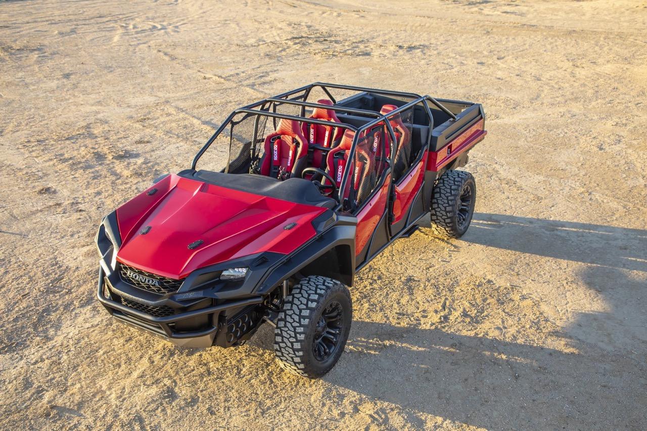 #SEMA : Honda Ridgeline - Open Air Vehicle Concept... Buggy Vtec ! 11