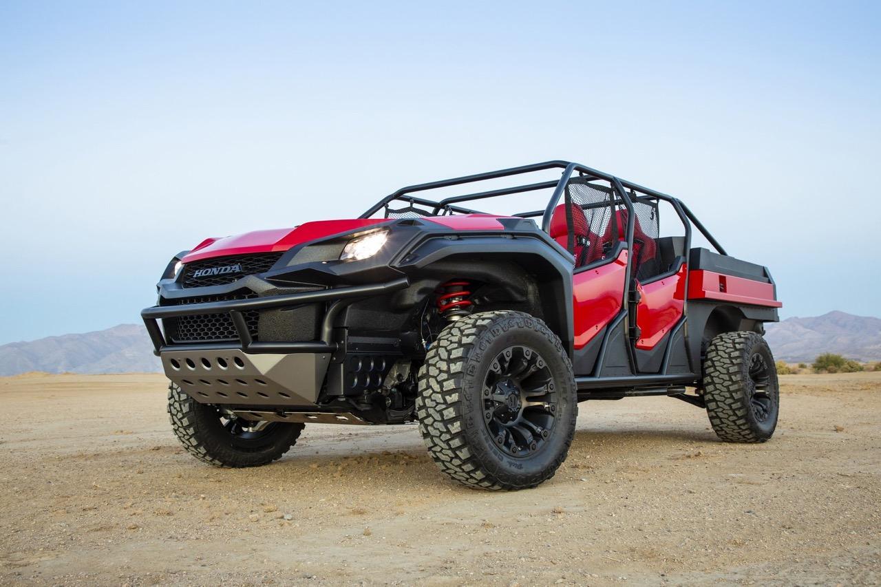 #SEMA : Honda Ridgeline - Open Air Vehicle Concept... Buggy Vtec ! 1