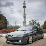 Bagged Peugeot 306 - Air Porto !