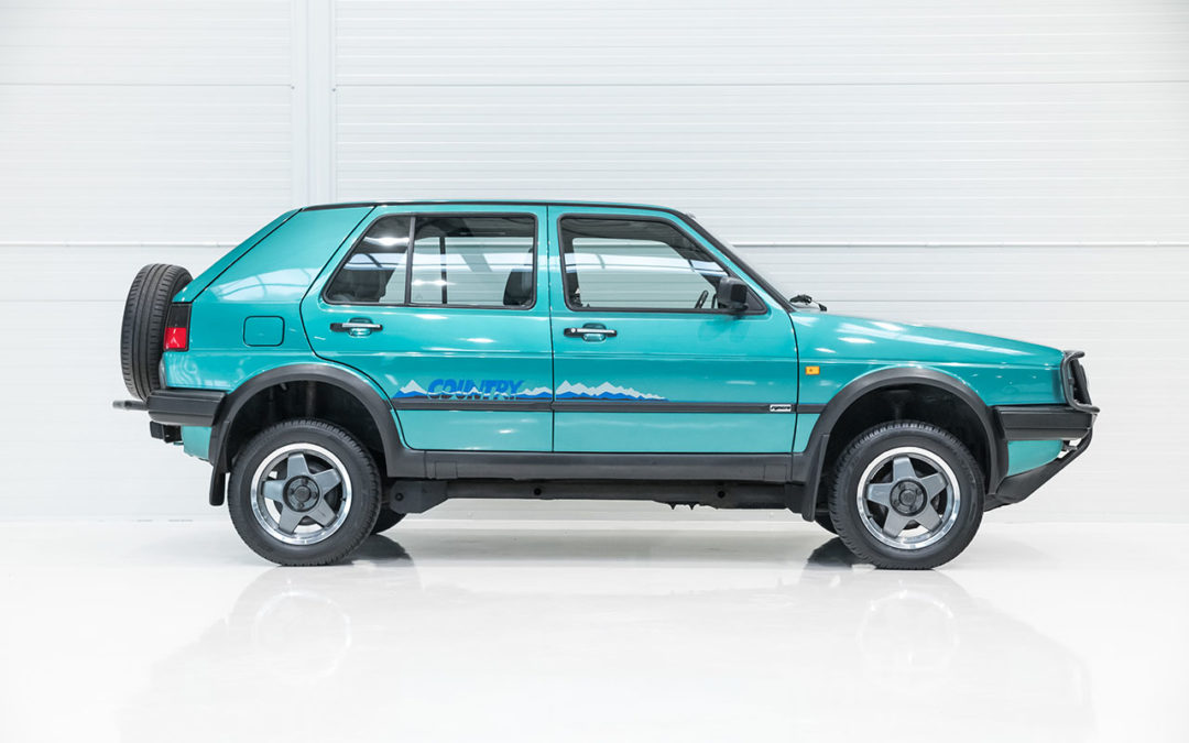 VW Golf Country – L'anti-stance dans la boue !