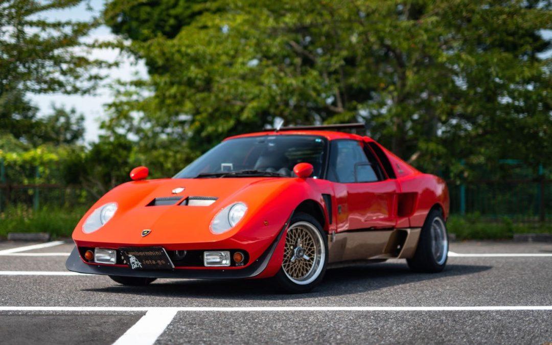 Autozam Miura… A moins que ce soit une Lamborghini AZ-1 ?!