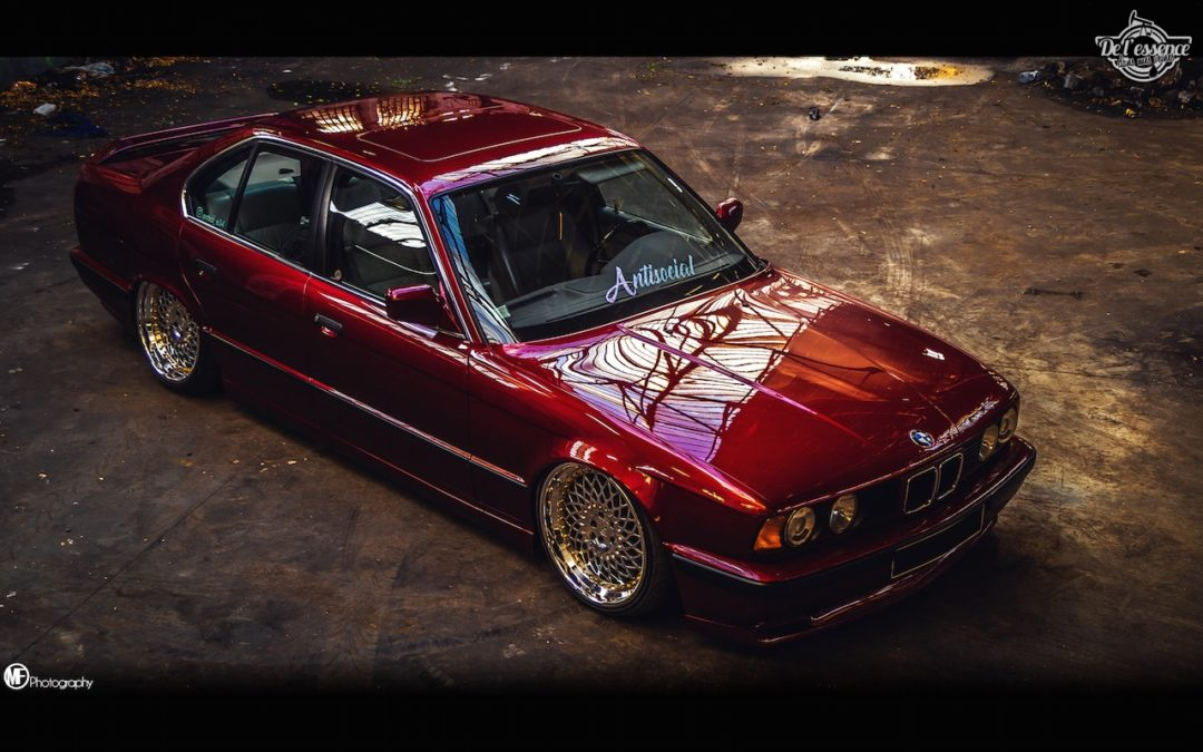 La BMW 525i E34 de Romain – L'accord parfait !
