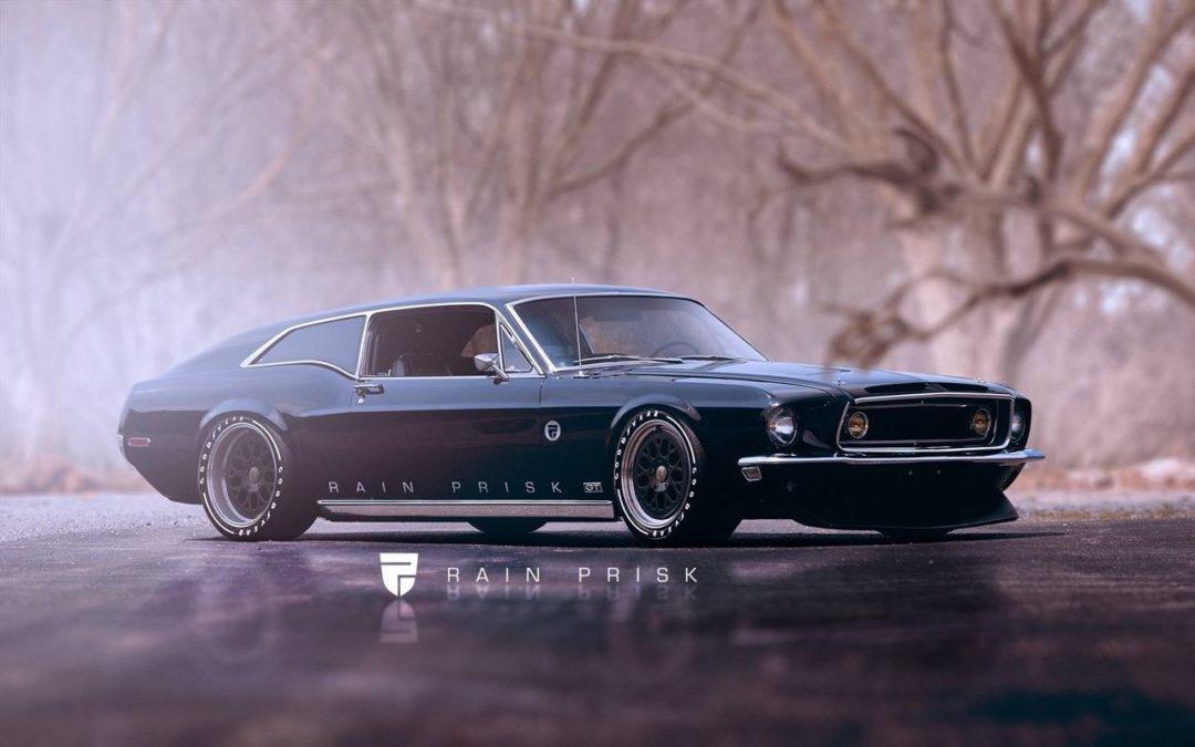 Rain Prisk Design… Shooting Brake Attitude !