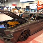 #SEMA 2K18 : Mustang Swap V8 Ferrari – Meet the « Corruptt » !