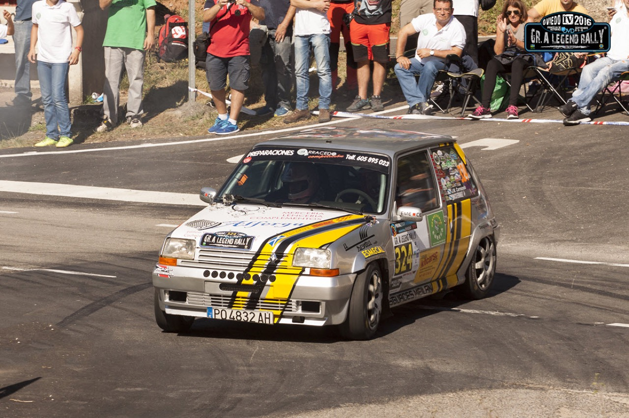 Hillclimb Monster : Renault 5 GT Turbo... A la limite ! 14