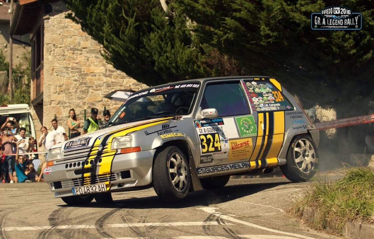 Hillclimb Monster : Renault 5 GT Turbo... A la limite ! 11