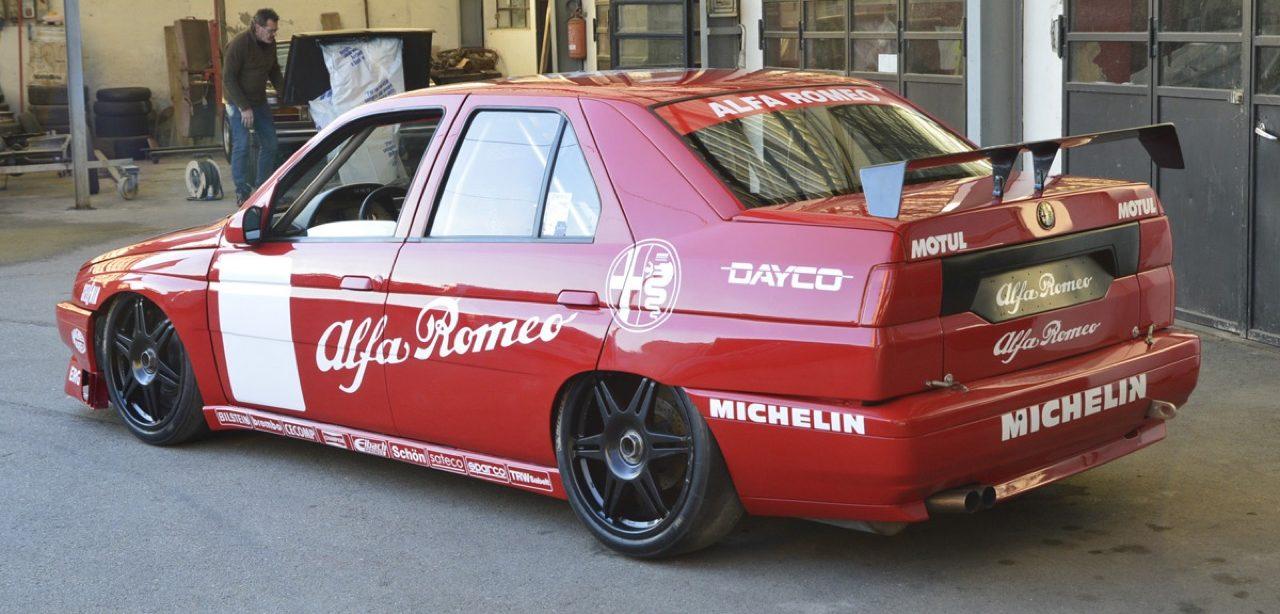 Hillclimb Monster : Alfa Romeo 155 D2 SuperTurismo... Mamma mia ! 2