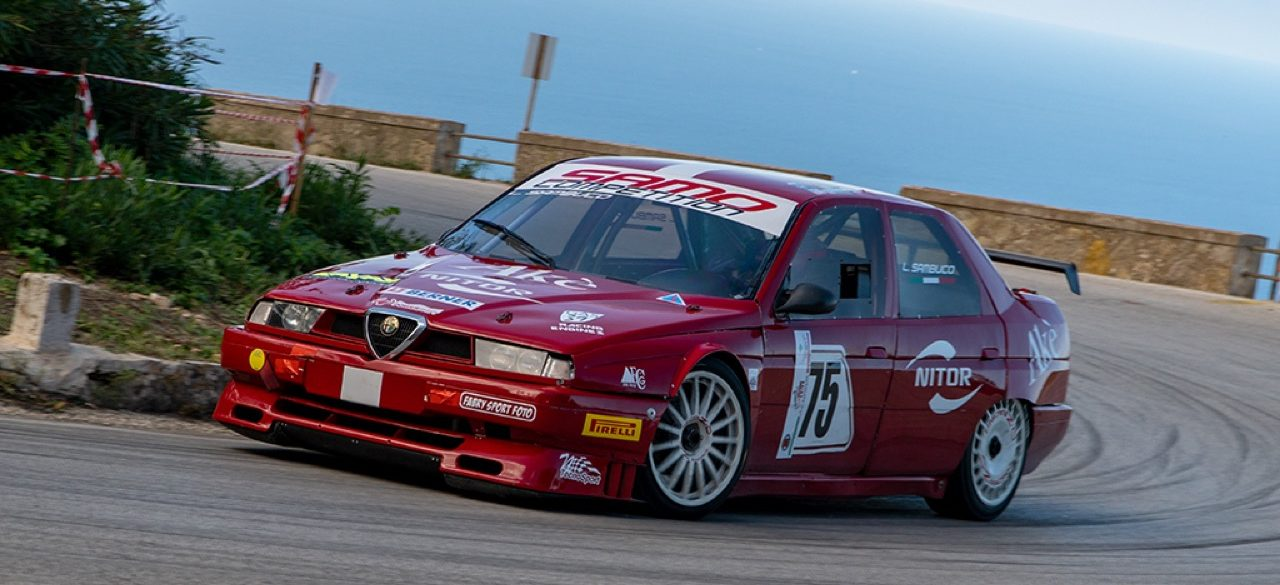 Hillclimb Monster : Alfa Romeo 155 D2 SuperTurismo... Mamma mia ! 3
