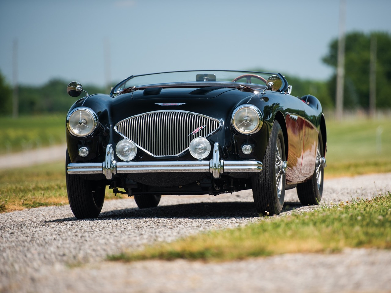 """'56 Austin Healey 100-4 """"Le Mans""""... J'aime pas les anglaises ! 4"""