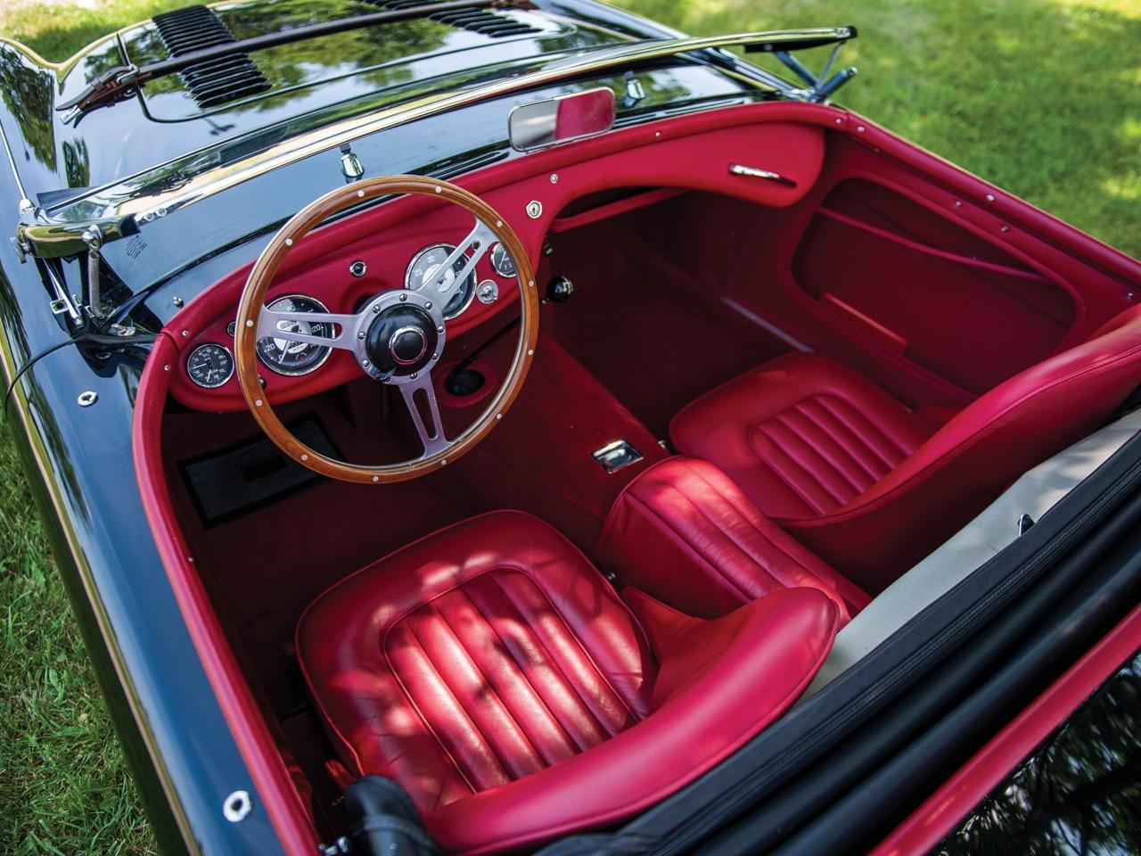 """'56 Austin Healey 100-4 """"Le Mans""""... J'aime pas les anglaises ! 6"""