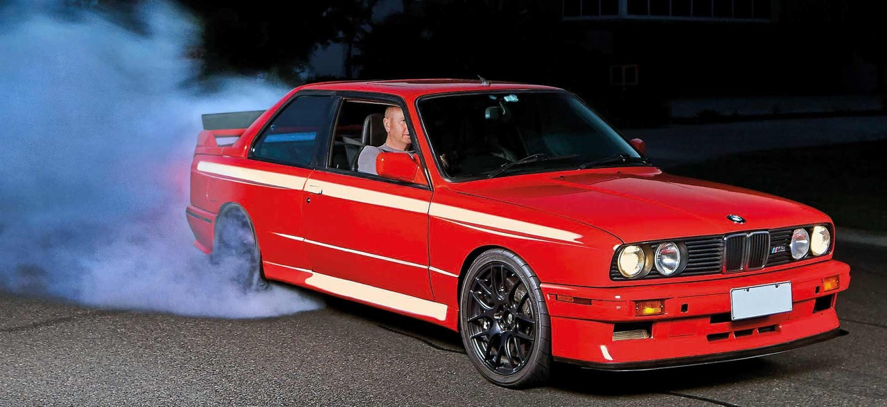 BMW M3 E30 en SB85B50... Ouais, en V10 quoi ! 1