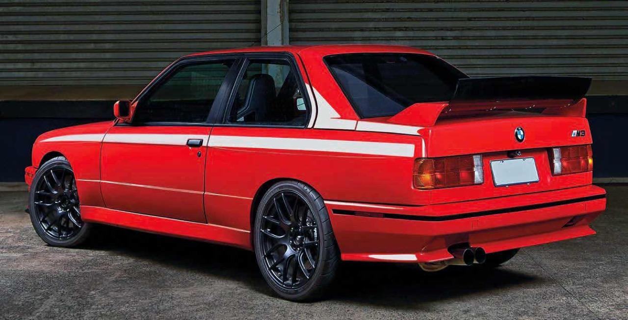 BMW M3 E30 en SB85B50... Ouais, en V10 quoi ! 3