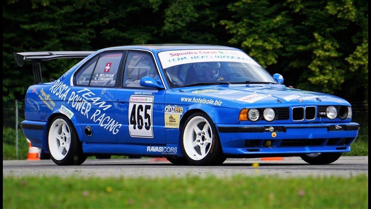 Hillclimb Monster : BMW M5 E34... Echappée de l'Autobahn ! 2