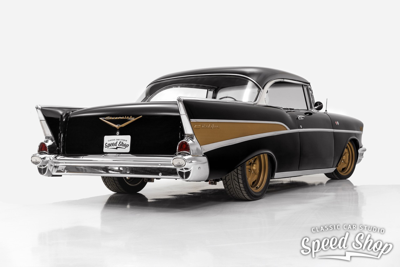 '57 Chevrolet Bel Air... Pro Touring plus fort qu'un Muscle Car ! 28