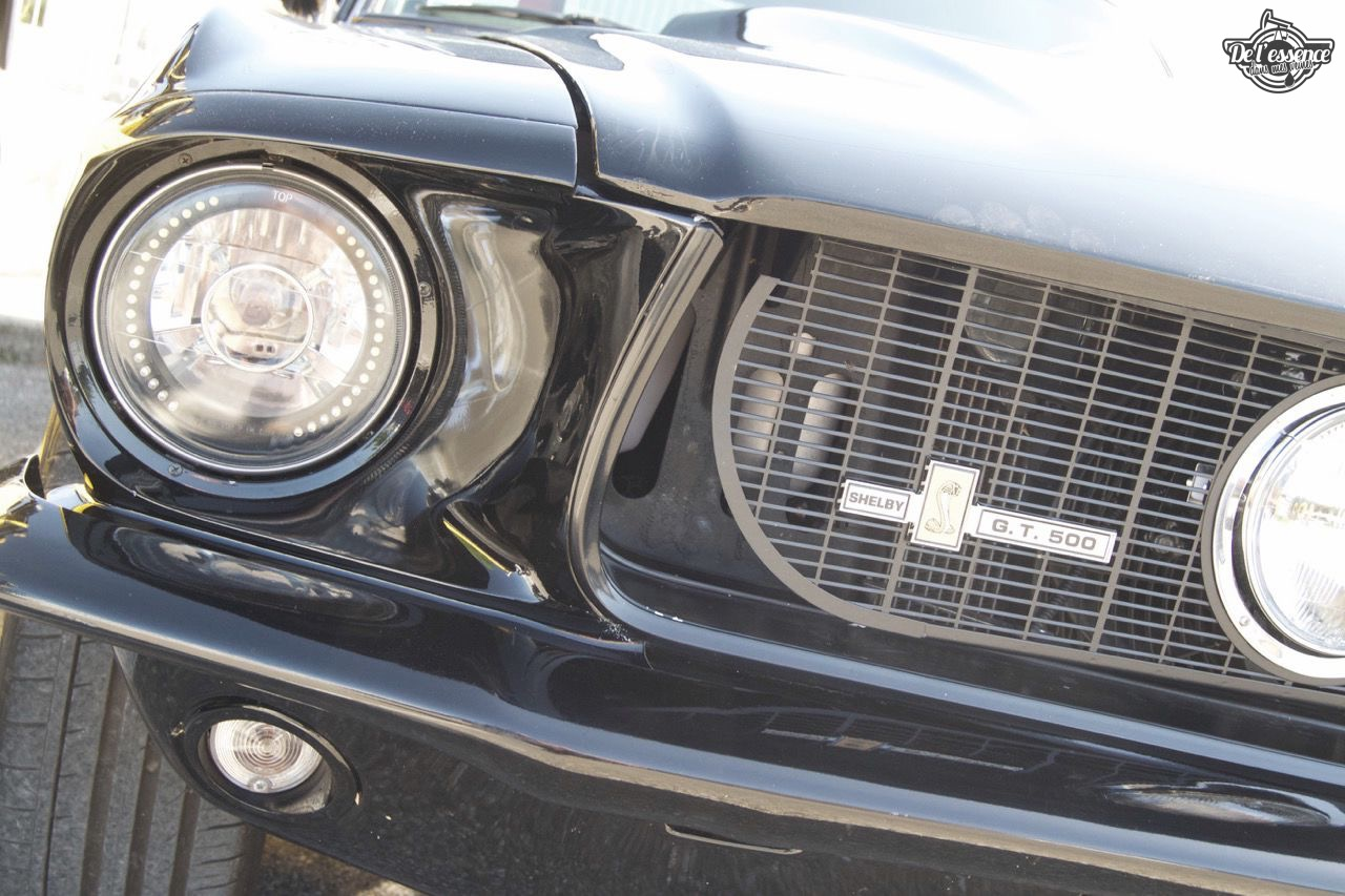 '67 Ford Mustang Shelby GT500 Replica... Bienvenue en enfer ! 56