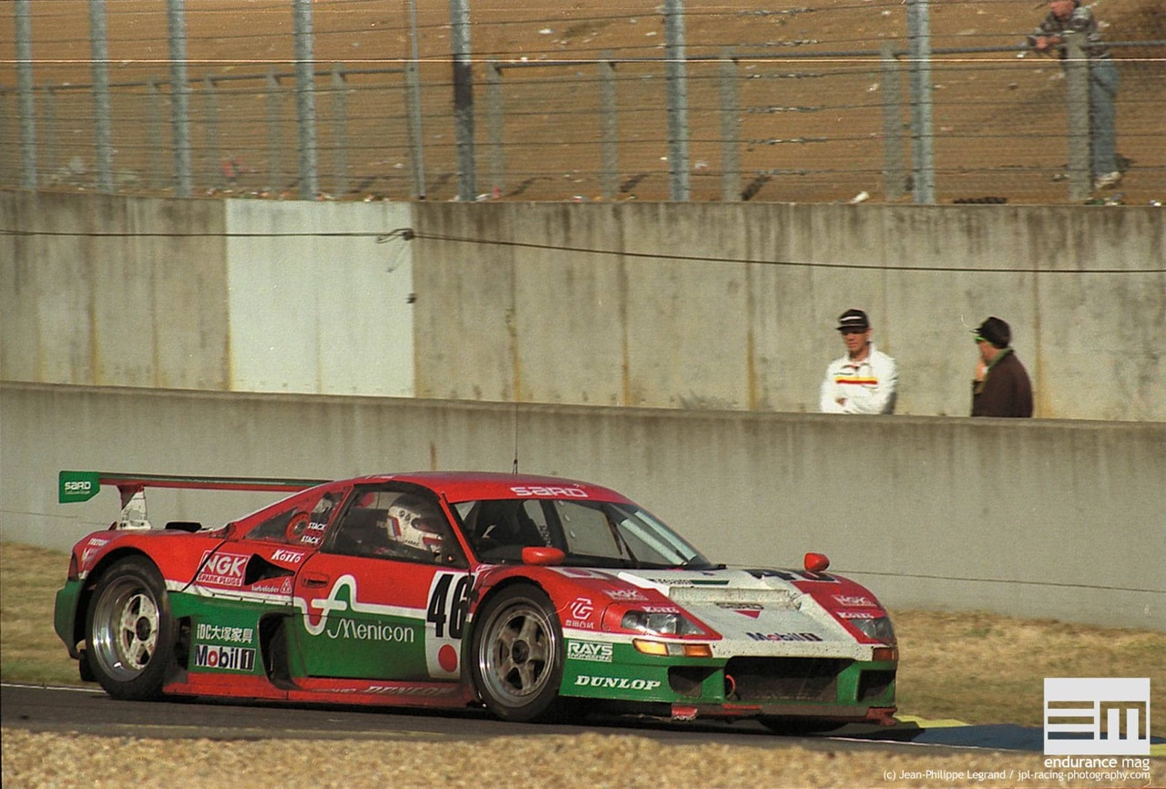 Toyota SARD MC8-R... La super MR2 au pays des GT1 ! 9