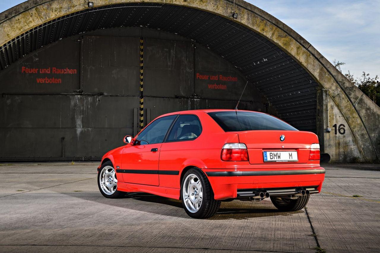 BMW M3 Ti E36 Compact - Celle qui aurait du exister ! 1