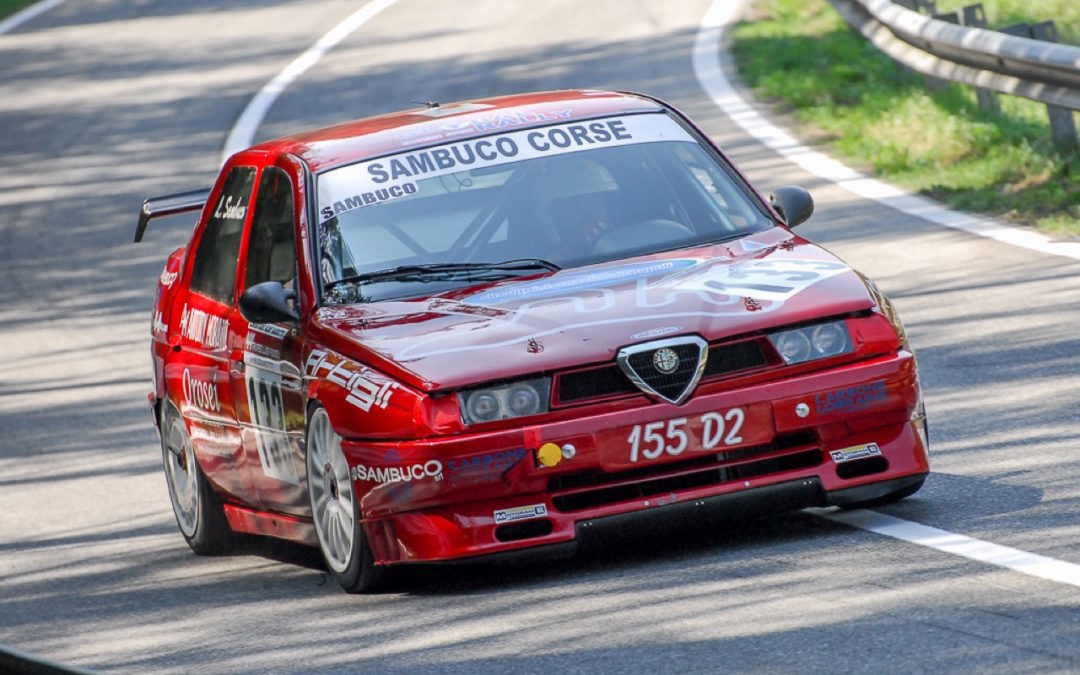Hillclimb Monster : Alfa Romeo 155 D2 SuperTurismo… Mamma mia !
