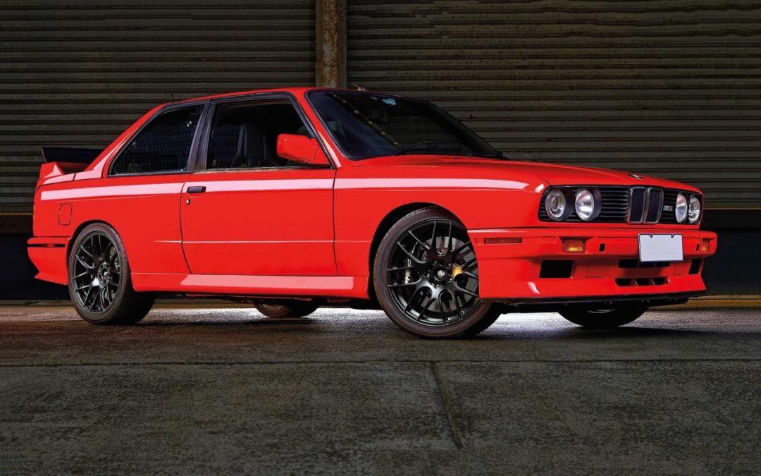 BMW M3 E30 en SB85B50… Ouais, en V10 quoi !