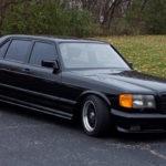 '85 Brabus 1000 SEL… 2 fois mieux que la 500 !